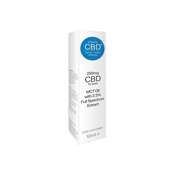 ClearlyCBDmgOil